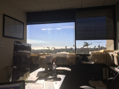 View from my Office
